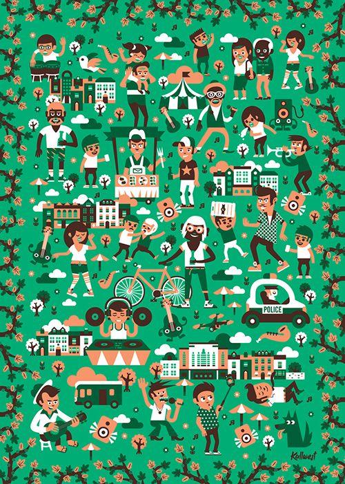 Poster by Jan Kallwejt