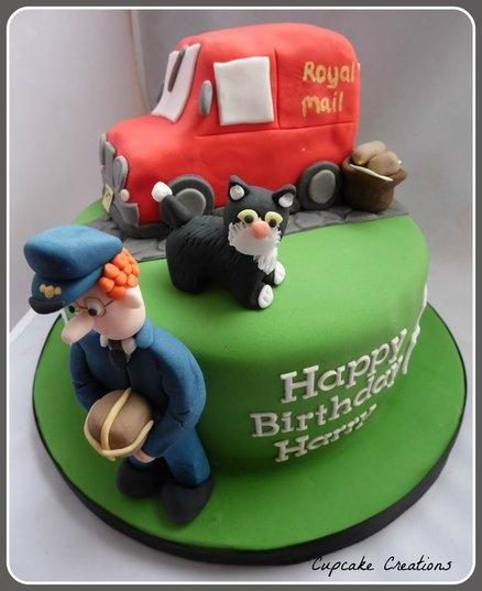 Postman Pat Cake  Cake by Cupcakecreations