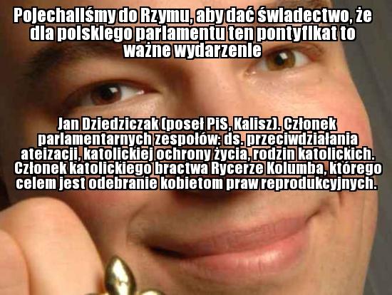 Jan Dziedziczak (PiS, Kalisz)