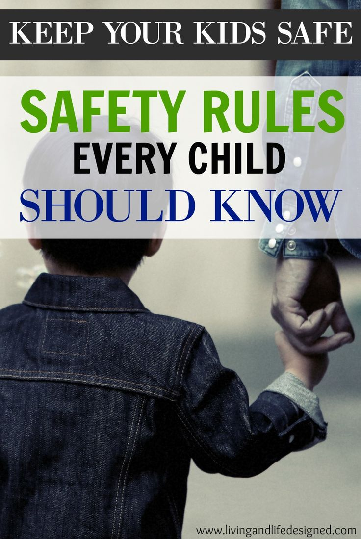 This a great list of safety rules - some I hadn't even thought of! One of the best lists I've seen and perfect timing since we're working on safety with our toddler and preschooler