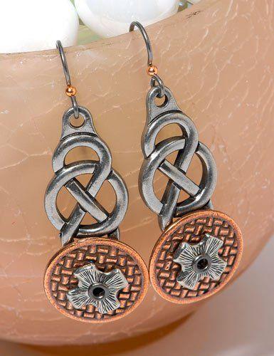 TierraCast Celtic Connection Earrings Quick Kit