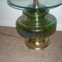 EFEF Industries Glass Globe Floor Lamp antique appraisal | InstAppraisal