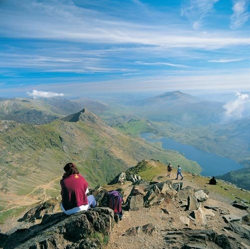 Snowdonia National Park in Wales. Home.