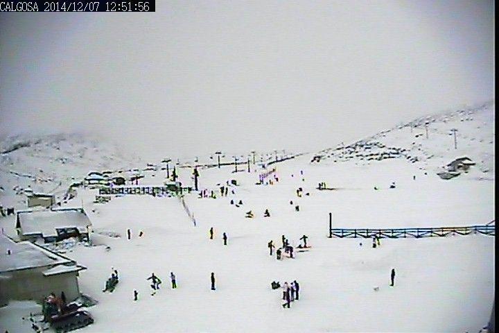 Estación de Esquí de Alto Campoo - Cantur - Cantabria - España - Webcams