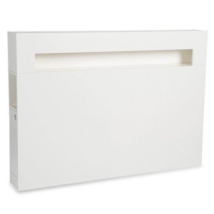 Zebra Collection ~ WILMA sänggavel i vit MDF 160-210 cm