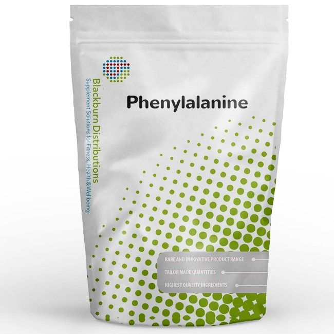 L-Phenylalanine is an essential amino acid that can be readily converted into the amino acid tyrosine. Buy now: http://www.blackburndistributions.com/phenylalanine-powder.html