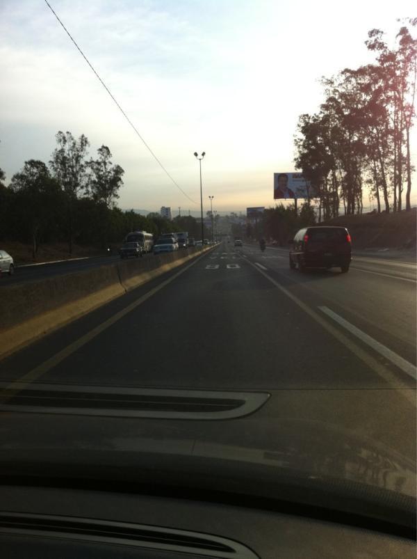 Trafico despejado por periferico  10/05/2012