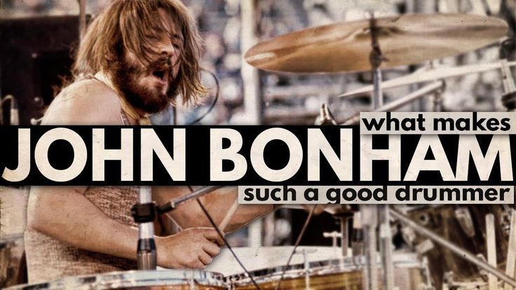 What Makes John Bonham Such a Good Drummer? - YouTube