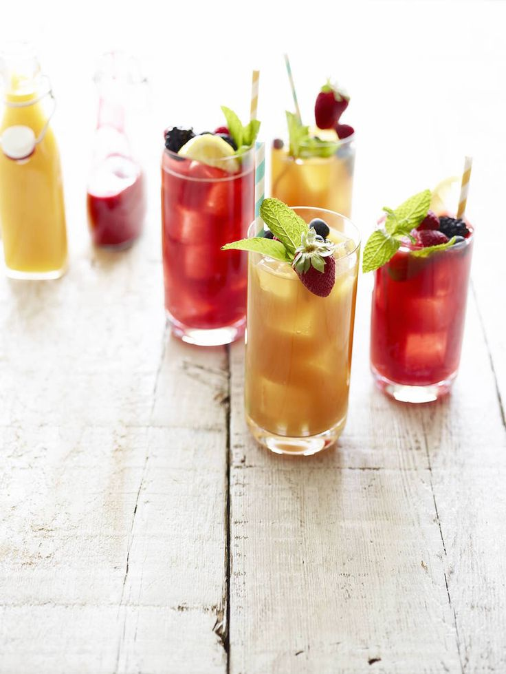 Mango and Raspberry Iced Tea Infusions from www.whatsgabycooking.com (@whatsgabycookin)