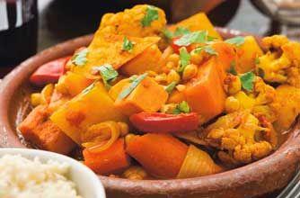 Spiced butternut squash and veg tagine recipe - Recipes - goodtoknow