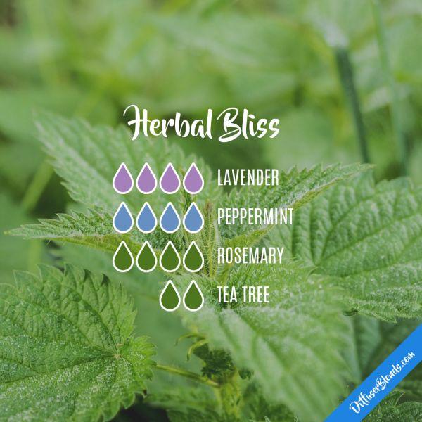 Herbal Bliss - Essential Oil Diffuser Blend