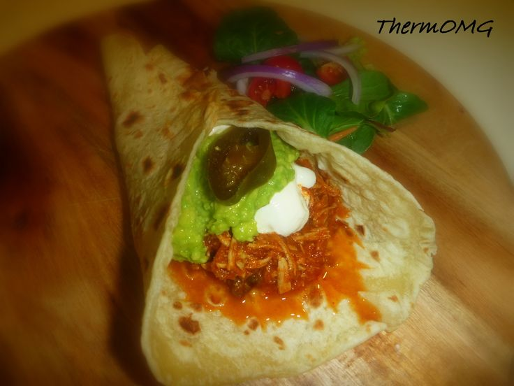 Mexican Shredded Chicken — ThermOMG