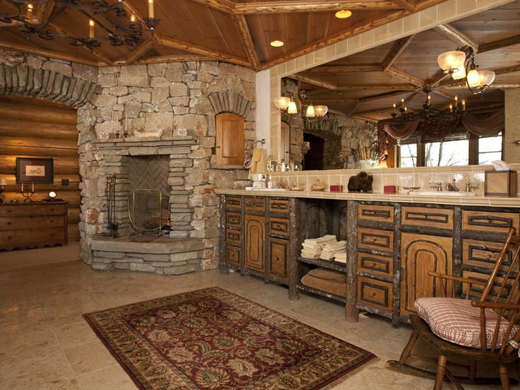 19 best kitchen and baths in jackson hole wyoming images for Log cabin kitchens and baths