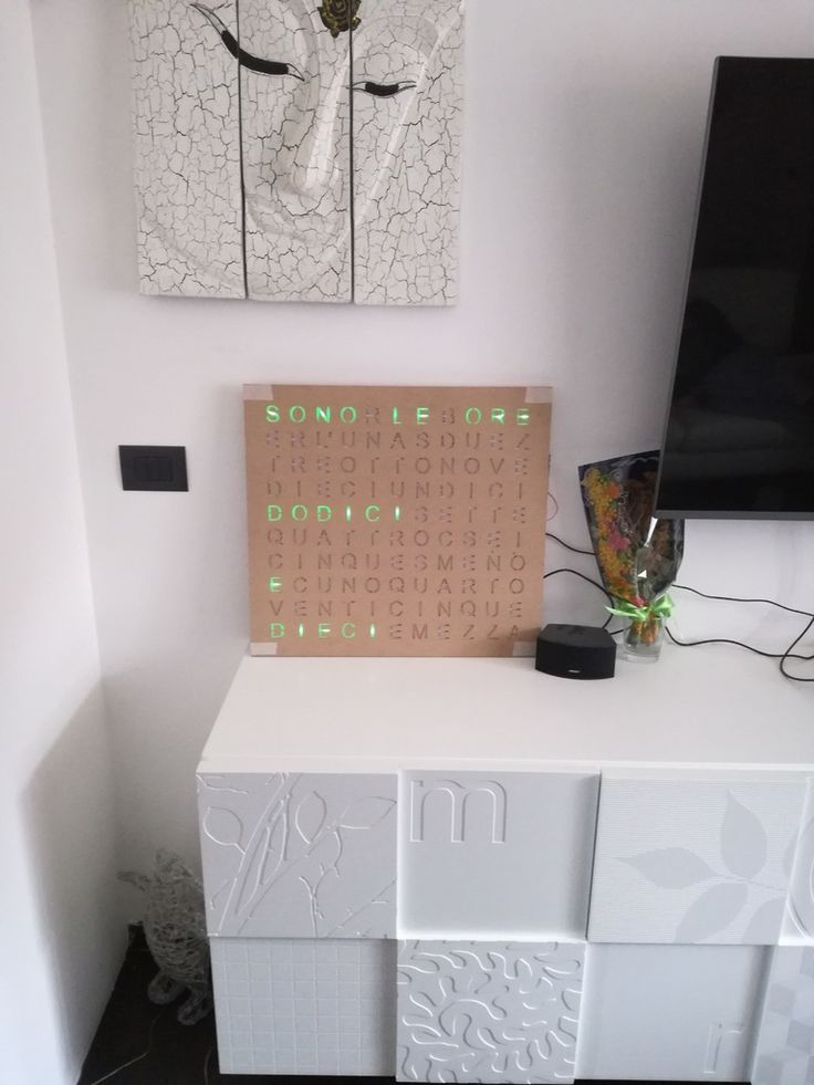 Wordclock+-+CL+Make+by+clmake.