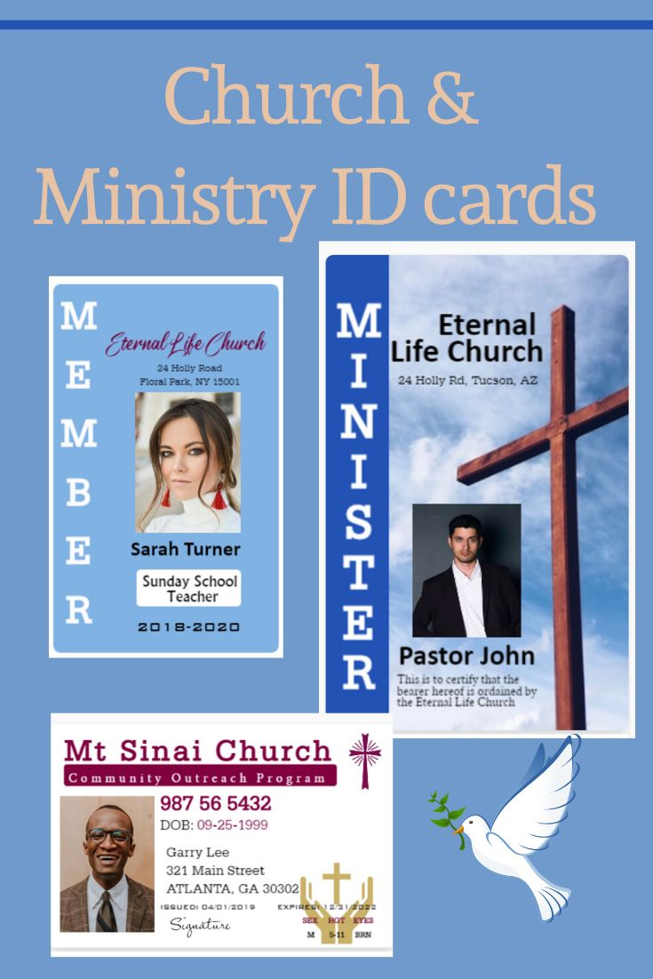 Pin On Church And Ministries Id Cards