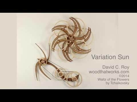 ▶ Frolic Kinetic Sculpture - YouTube