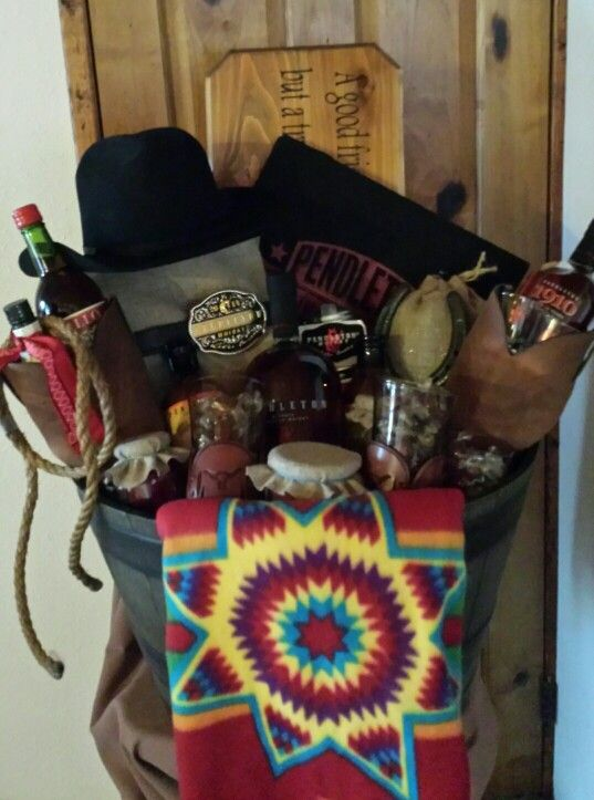 Pendleton Whiskey Gift Basket 2015 My Own Creations