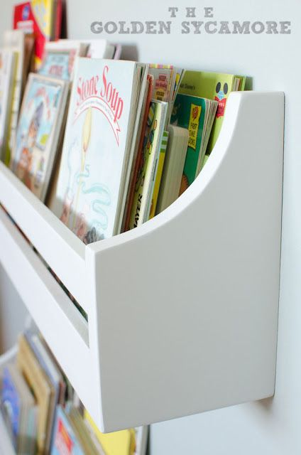 wall mounted bookshelves kids book shelvesbookshelves - Wall Hanging Book Shelf
