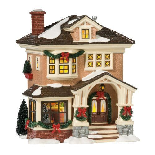 MY SANTA LIST: Department 56 Original Snow Village Christmas At Grandma's Lit House by Department 56