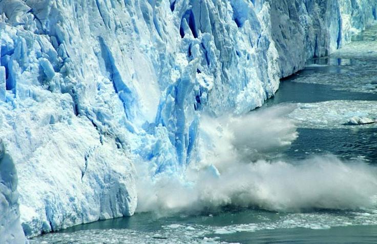 Ice break Perito Moreno, Argentina
