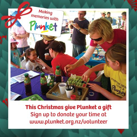 #5 Donate your time this Christmas. Connect, inspire and make a difference. Become a Plunket volunteer. #plunketadventcalendar