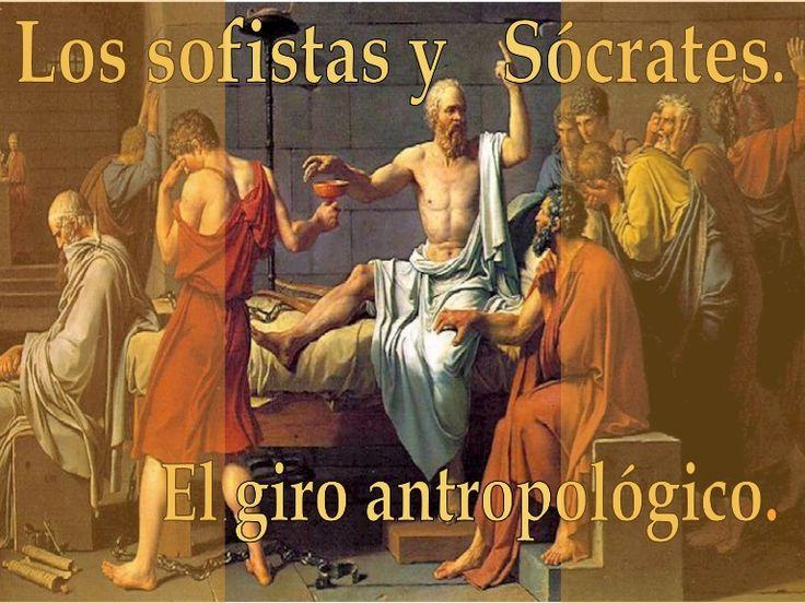 El giro antropológico es el estudio sobre las diferencias y semejanzas entre Sócrates y sus discípulos, y los sofistas.