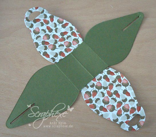 "Curvy Keepsake Thinlit Die Tutorial for using 3"" x 9"" folded paper"
