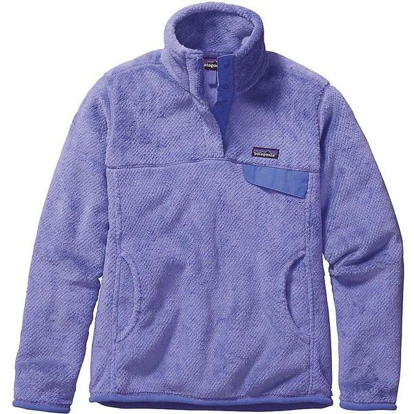 Patagonia Women's Re-Tool Snap-T Pullover (215 BAM) ❤ liked on Polyvore featuring patagonia