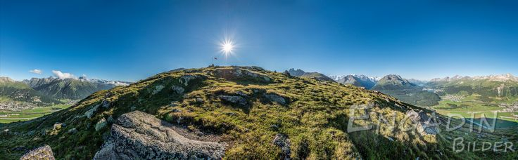 Muottas Muragl, 360 Grad Panorama, Schweiz-4
