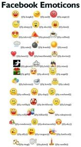Facebook New Chat Emoticons Code