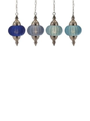 64% OFF Assorted Set of 4 Chelan Beaded Pendant Lights