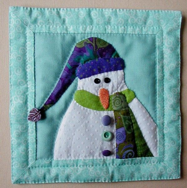 96 Best Images About Rag Quilts And Snowman Quilts On