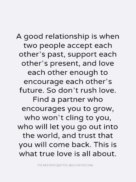 A Good relationship love quotes