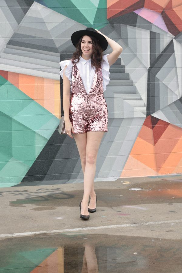 1c756e8ef66d The Sequin Romper You Never Knew You Needed