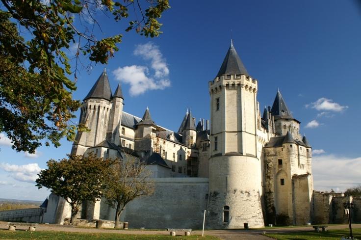 Chateau of Saumur, Region Pays de la Loire - French Castle