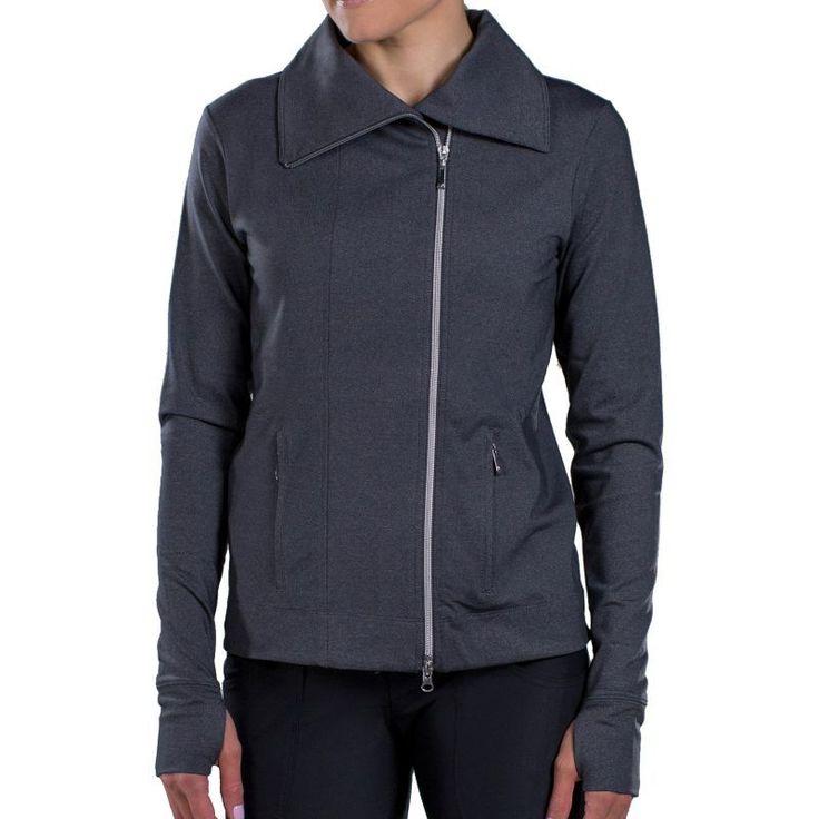 Jofit Women's Jet Set Golf Jacket, Size: Small, Gray