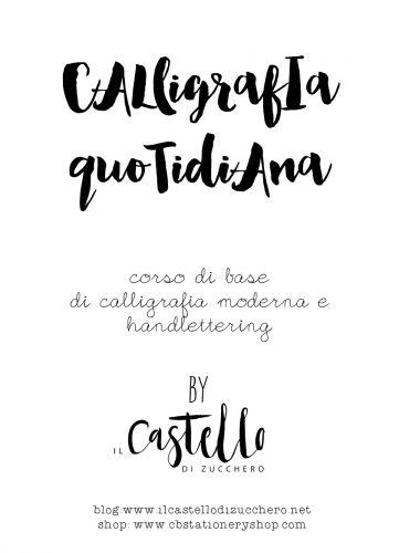 Vuoi imparare le basi della calligrafia moderna per decorare lavagne, scrivere su legno e vetro? Questo il corso che fa per te! #calligrafia #calligrafiamoderna