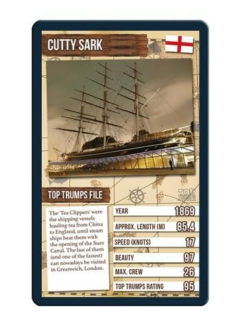 Top Trumps - World Famous Ships Card Game Preview 3