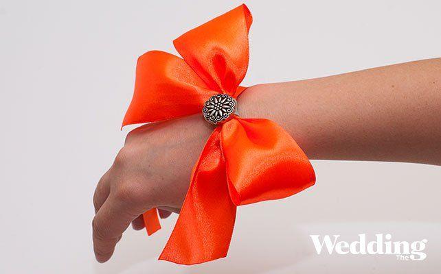 Мастер-класс: браслет с бантом для подружек невесты