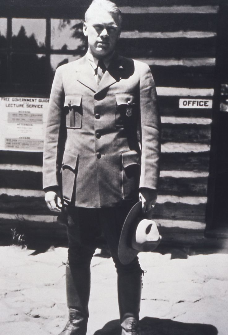 Ranger Gerald Ford; Photographer unknown; 1936