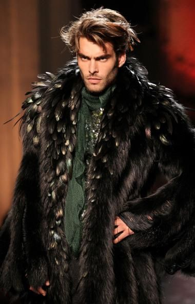 86 best Mens Feather Trends images on Pinterest