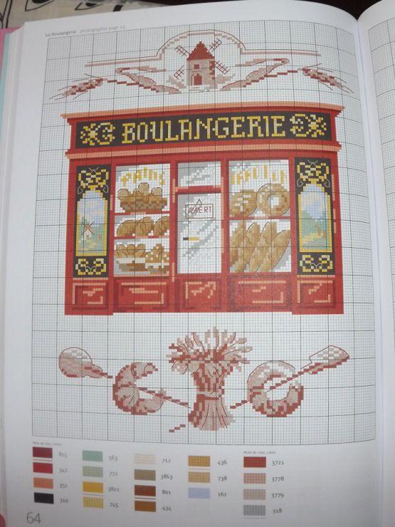 Veronique Enginger ''Les boutiques et métiers de toujours'' - La boulangerie