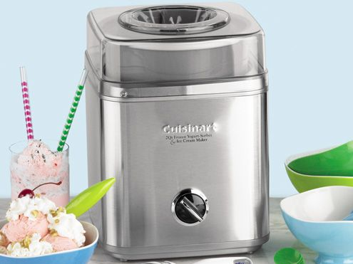 Pure Indulgence Frozen Yogurt, Ice Cream & Sorbet Maker (2-qt.) by CuisinartFrozen Yogurt Icecream, Ice Cream Maker, Puree Indulgence, Homemade Ice Cream, 2Qt, Sorbet Maker, Indulgence Frozen, Frozen Desserts, Cream Sorbet