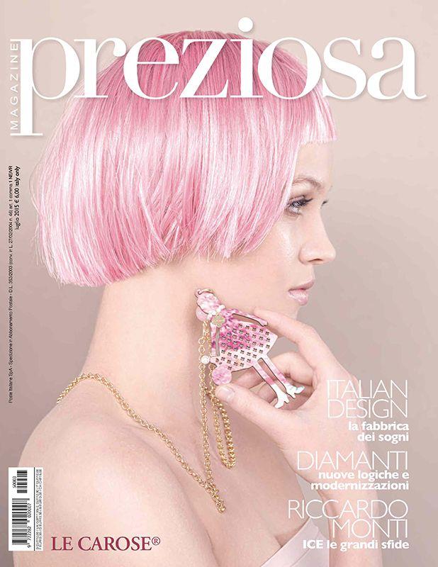 Press | AIBIJOUX Preziosa Magazine, Luglio 2015