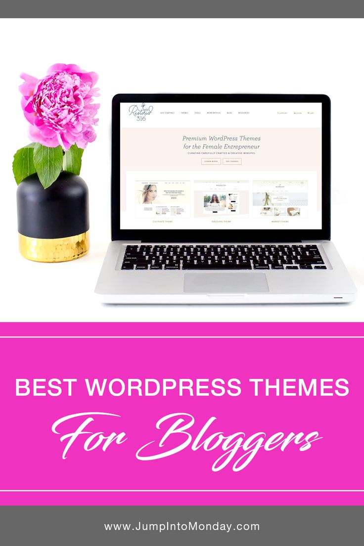 Best Wordpress Themes For Bloggers. These are great!