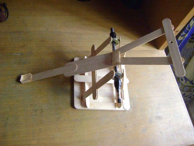 Trebuchet Plans Popsicle Stick Woodworking Projects Amp Plans