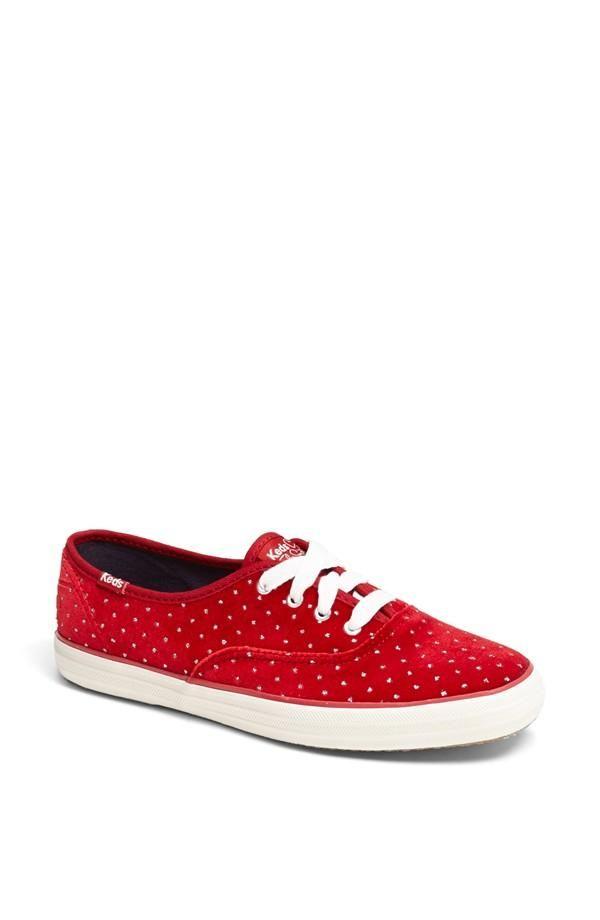 Red Taylor Swift Glitter Sneaker