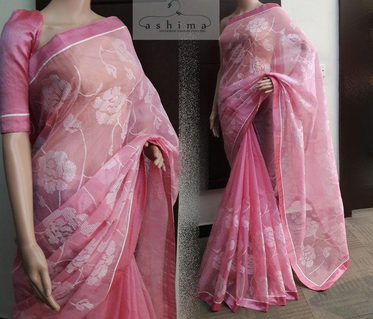 Code:1407173 - Price INR:1750/- , Embroidered Kota Saree