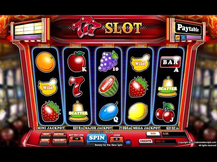 Buy Casino Slot Game for online casino - 777 SLOT Video Slot Game