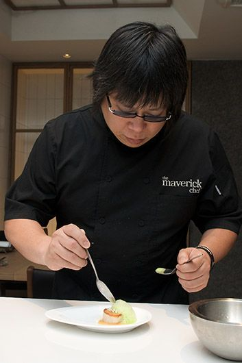 Bo London Restaurant - Alvin Leung: Demon Chef 2 Michelin stars